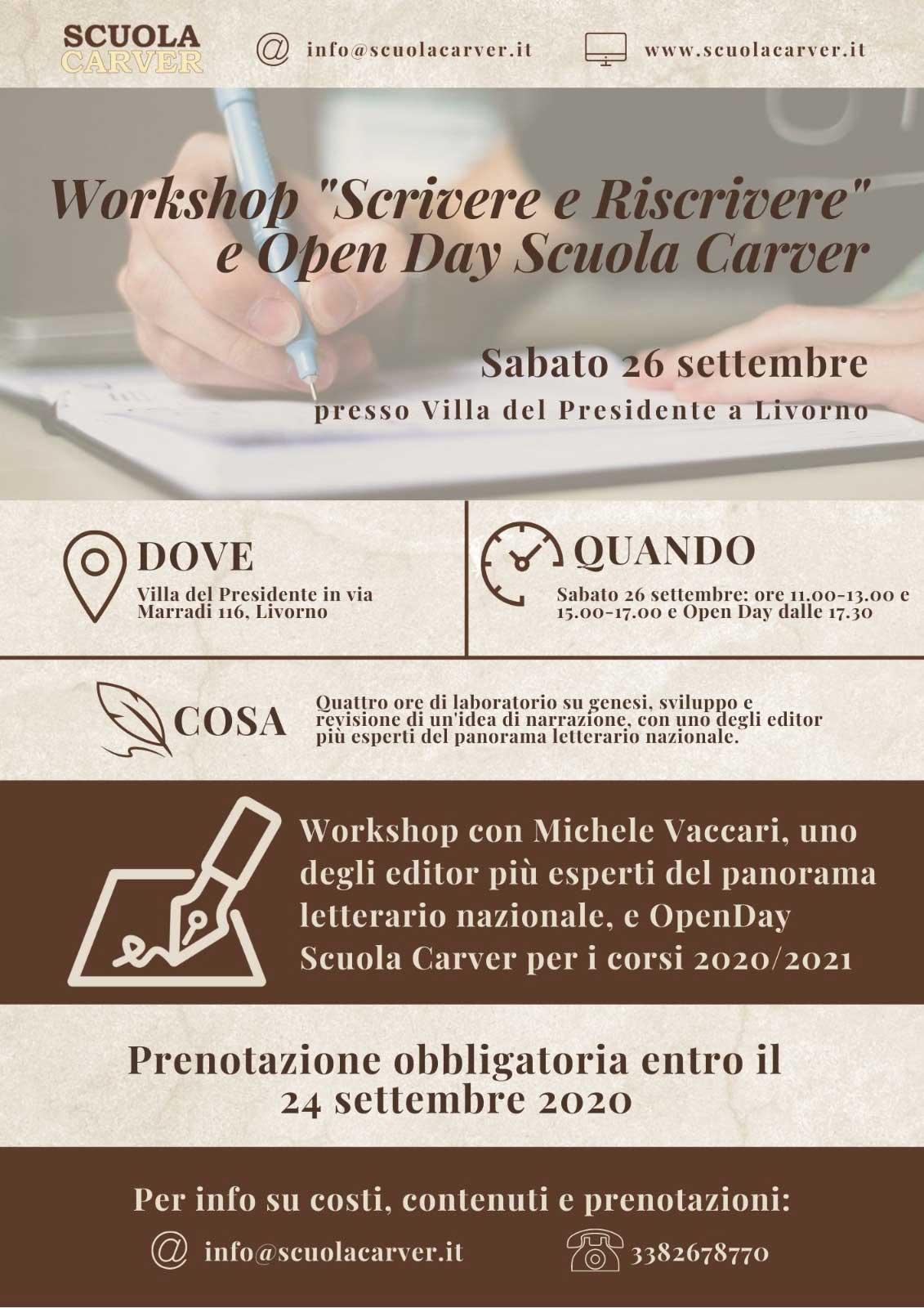 locandina-eventi-scrivere-riscrivere-scuola-carver